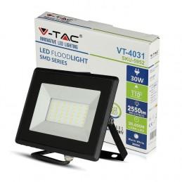 Faretto V-TAC  LED 30W per esterno Nero
